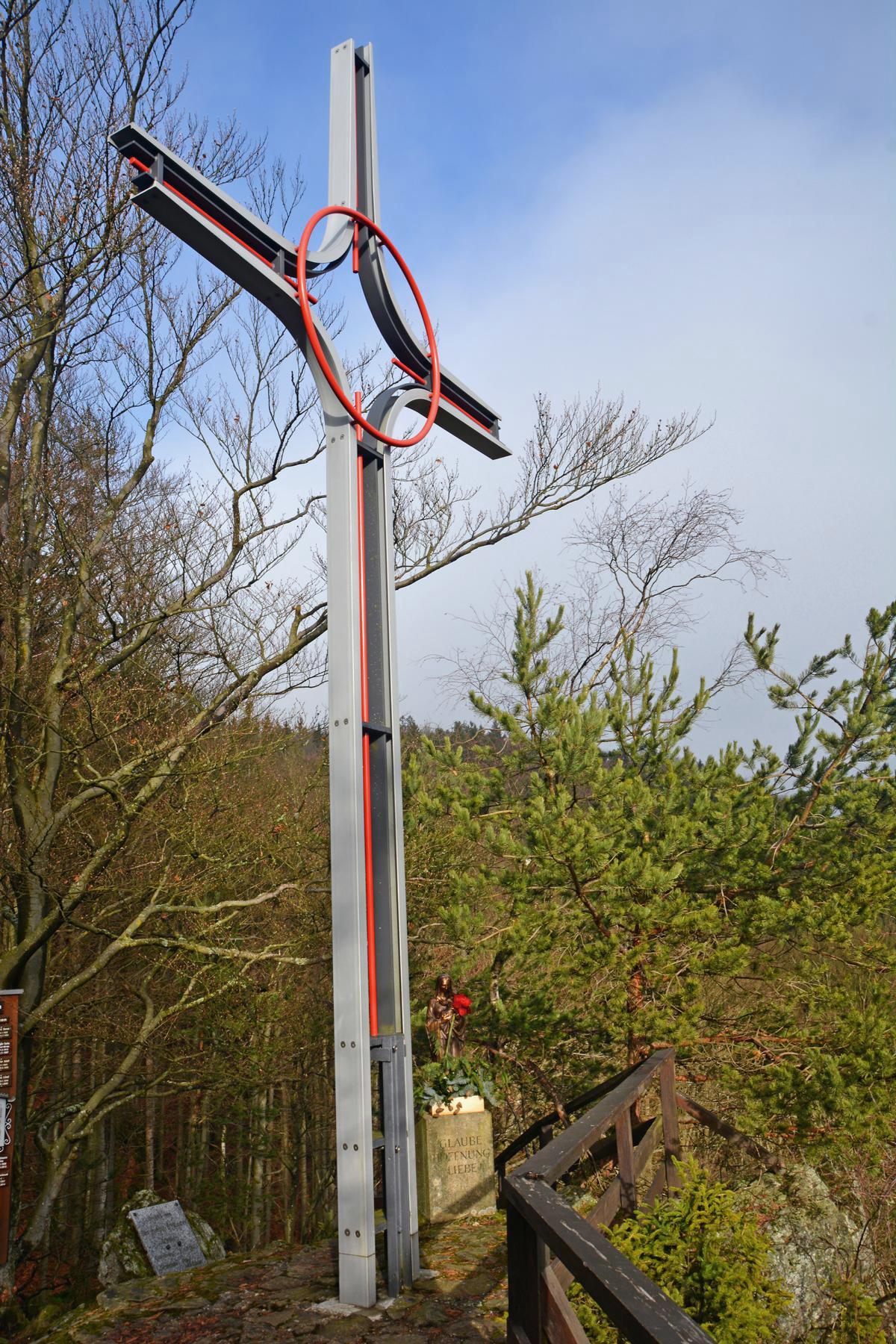 uebern dachsriegel zum kirschbaumriegel da bayerische woid